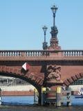 Bridge on River Spree Stock Photography