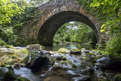 Bridge river. Stone Bridge with a river running beneath Royalty Free Stock Images