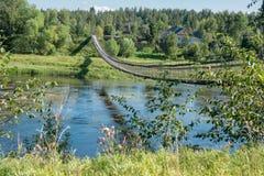 Bridge on the River Stock Photos