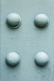 Bridge Rivets. Stock Photography