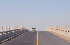The bridge road Stock Photos