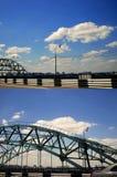 Bridge road close Stock Image
