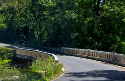 Bridge on Road to Hana, Maui, Hawaii Stock Image