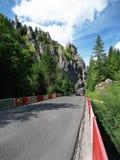 Bridge on the road to Vratna Valley stock photo