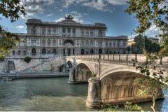 Bridge in Rome Royalty Free Stock Image