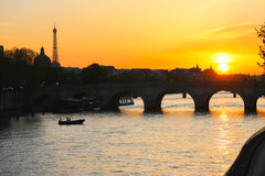 Bridge in paris, France Stock Images