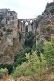 The bridge of Ronda stock image