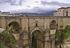 Bridge of Ronda stock image