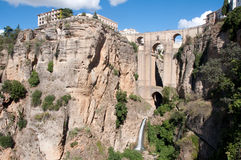 Bridge of Ronda Royalty Free Stock Images