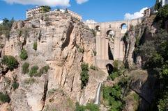 Bridge of Ronda. New bridge of Ronda, Andalusia Royalty Free Stock Images