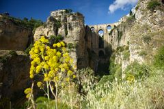 Bridge of Ronda Stock Photo