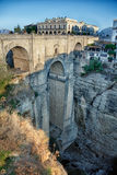 Bridge in Ronda Stock Photography