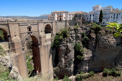 Bridge, Ronda Stock Images