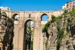 Bridge of Ronda Royalty Free Stock Photography