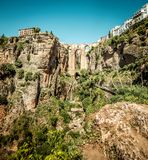Bridge of Ronda Royalty Free Stock Photos