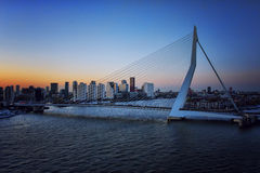Bridge in Rotterdam Stock Images