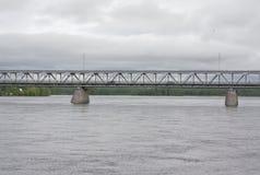 Bridge in Rovaniemi Stock Photos