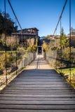 Bridge in Rupit village Stock Photo