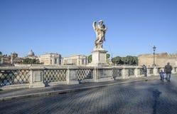 Bridge saint angel rome italy europe Stock Photography