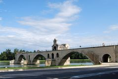 Bridge of Saint Benezet Royalty Free Stock Photos