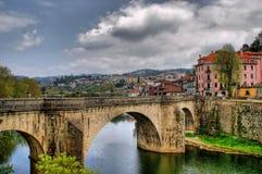 Bridge of Saint Goncalo in Amarante Stock Photos