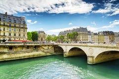 The Bridge Saint-Michel Royalty Free Stock Photography