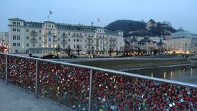 Bridge Salzburg Royalty Free Stock Image