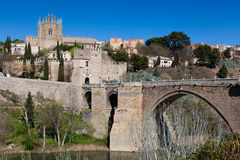Bridge of San Martin Stock Photo