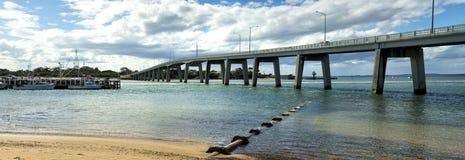 Bridge at San Remo, Australia Stock Images