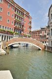 Bridge in Santa Croce Royalty Free Stock Images