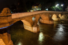Bridge in Sarajevo, Bosnia and Herzegovina Stock Photo
