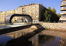 Bridge in Sarajevo Royalty Free Stock Image