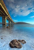 Bridge scene Royalty Free Stock Photography