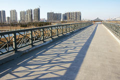 Bridge scenery Royalty Free Stock Image