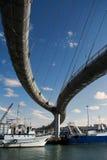 Bridge of sea in Pescara Royalty Free Stock Photography