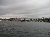 a bridge in seattle royalty free stock photos