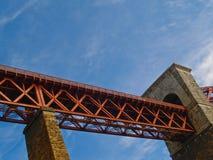 Bridge, section of North Queens Ferry Bridge,. North Queens Ferry historic rail bridge. Just north of Edinburgh, Scotland. UK Stock Image
