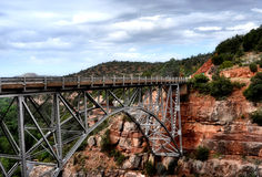 Bridge in sedona arizona Stock Photography