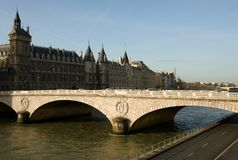 Bridge on the Seine Royalty Free Stock Images