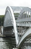 Bridge through Seine, Paris Stock Photography
