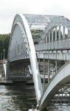 Bridge through Seine, Paris Stock Photography