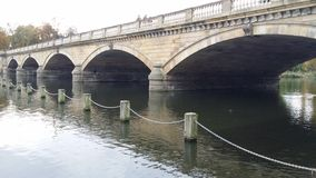 Bridge On The Serpentine Royalty Free Stock Images