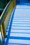 Bridge and the shadow Royalty Free Stock Photos