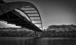 Bridge Shadow, Austin TX Royalty Free Stock Image