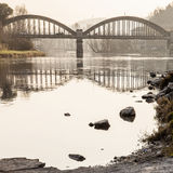 Bridge shapes Royalty Free Stock Photo