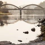 Bridge shapes Royalty Free Stock Photo