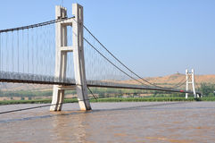 Bridge over the Yellow River Stock Image