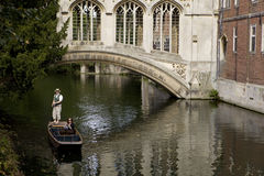 Bridge of Sigh. St. John's College, Cambridge University Stock Photo