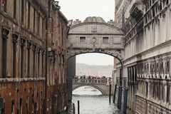 The Bridge of Sighs Royalty Free Stock Photo