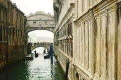 Bridge of sighs Stock Photos